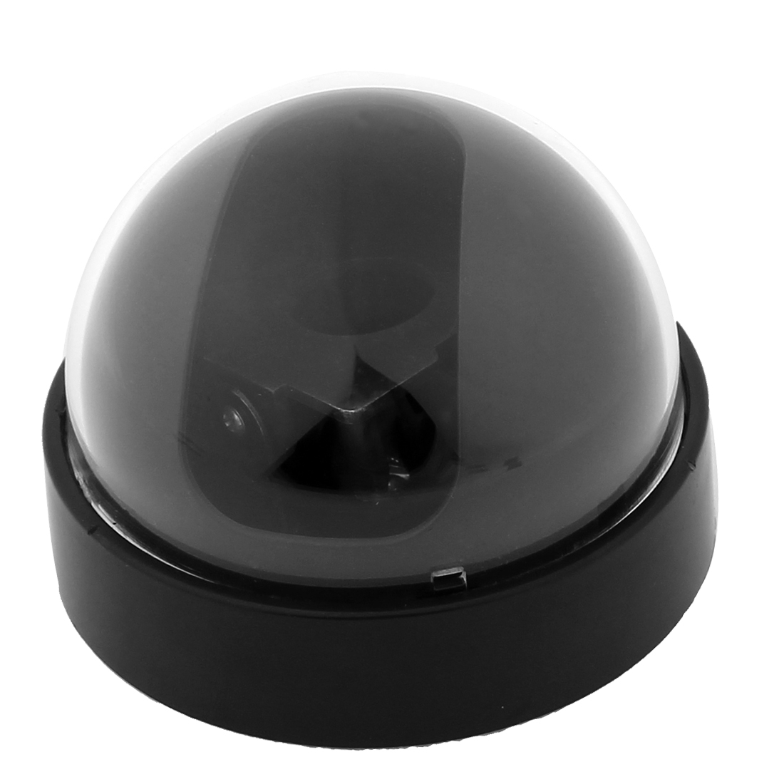 "Black Plastic Surveillance Security CCTV Dome Camera Housing Case 3.5"" Dia"