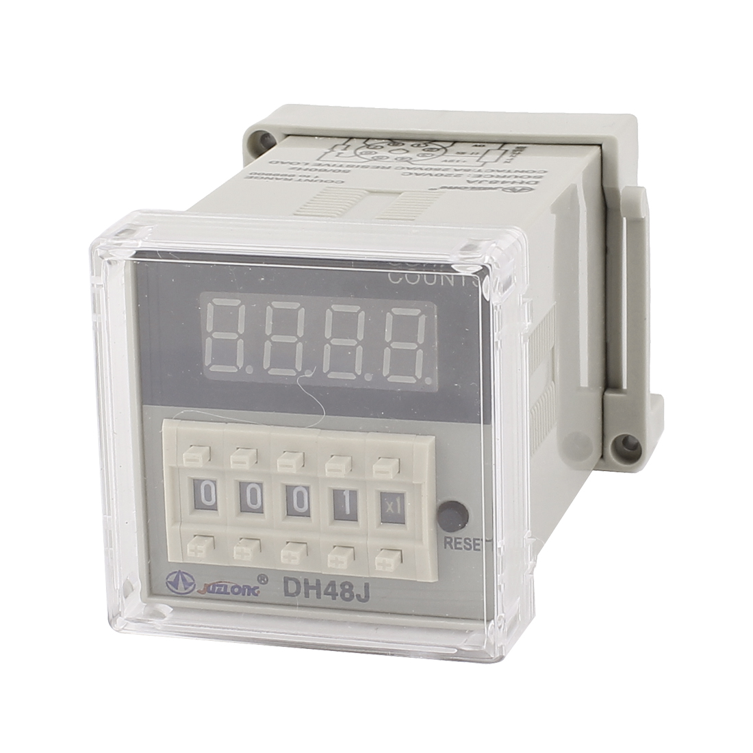 AC 220V DH48JA 8 Pins Digital Timer Time Delay Relay 1 to 999900