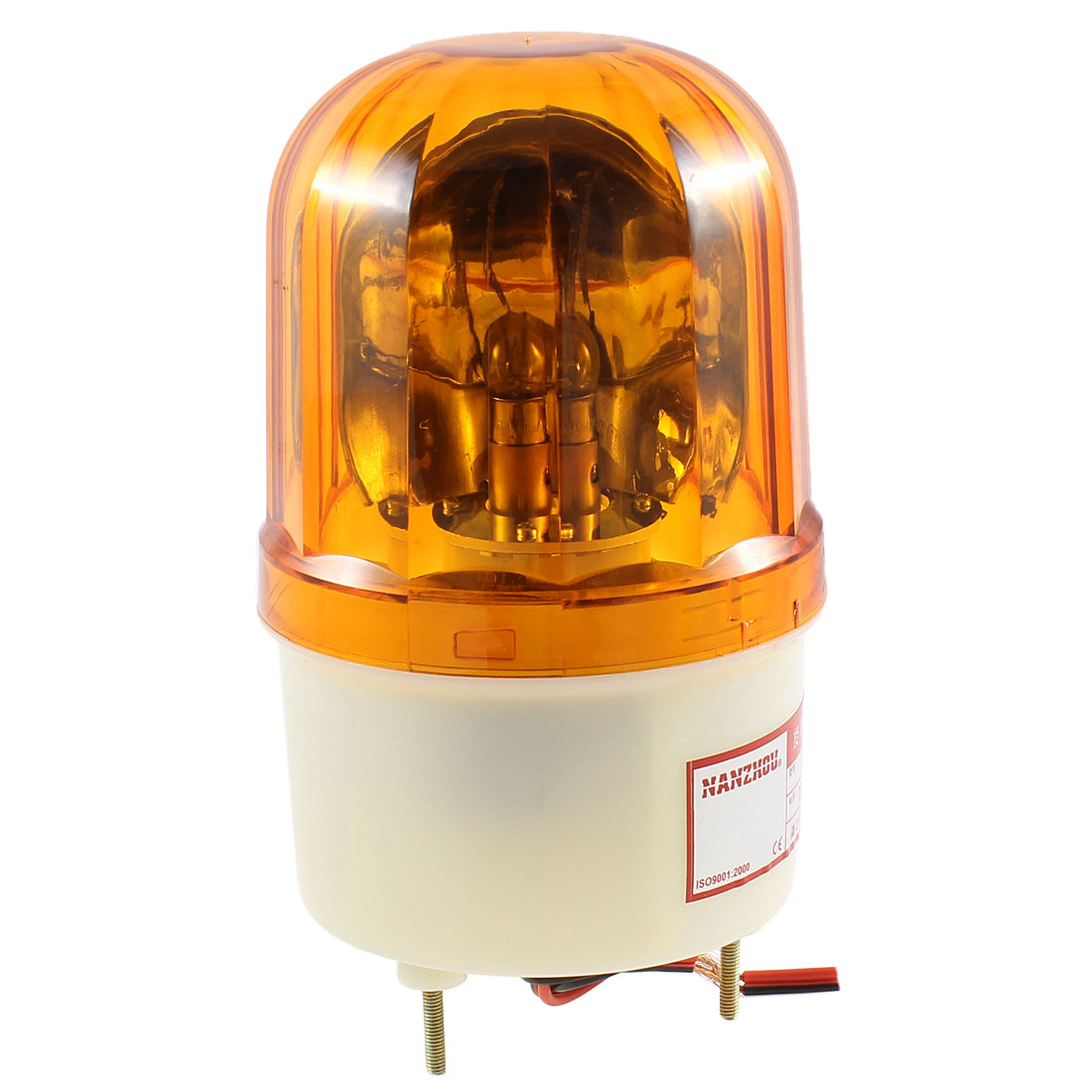 DC 24V 10W Industrial Alarm System Yellow Rotating Warning Light Lamp LTE-1101