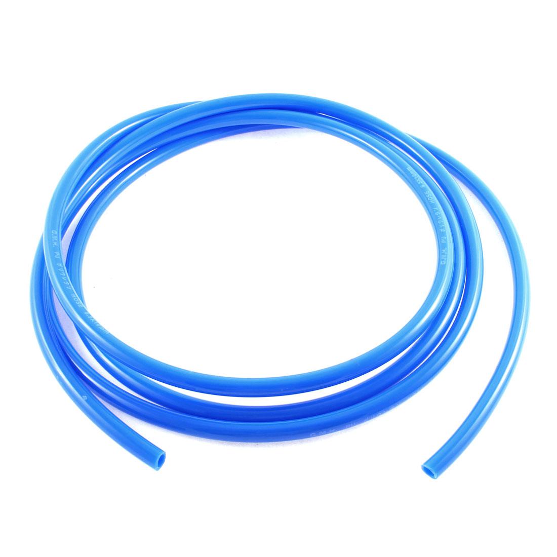 6.5mm Inner Dia 3Metres 10Ft Blue PU Air Line Tubing Aquarium Fishbowl Fish Tank Tube Pipe Hose