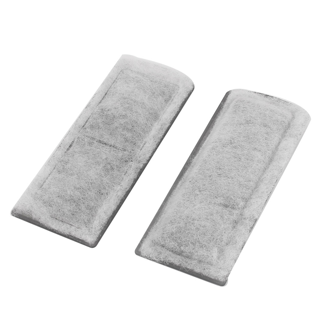 Fish Tank Pond Aquarium Active Carbon Sponge Filter Replacement 2 Pcs