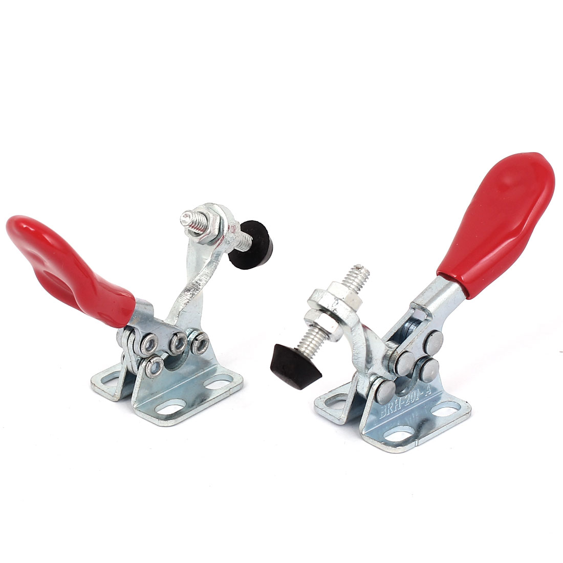 BRH-201-A Quick Hold 27Kg 60 Lbs Bent Horizontal Type Toggle Clamp 2pcs