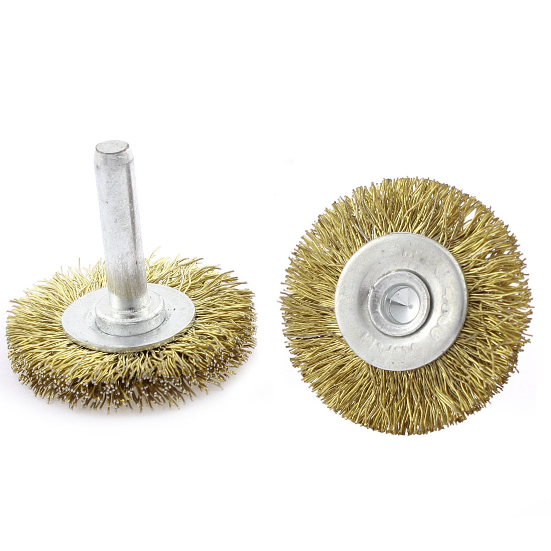 2pcs 39 x 6mm Steel Wire Polishing Buffing Wheels Grinding Brushes Rotary Tool