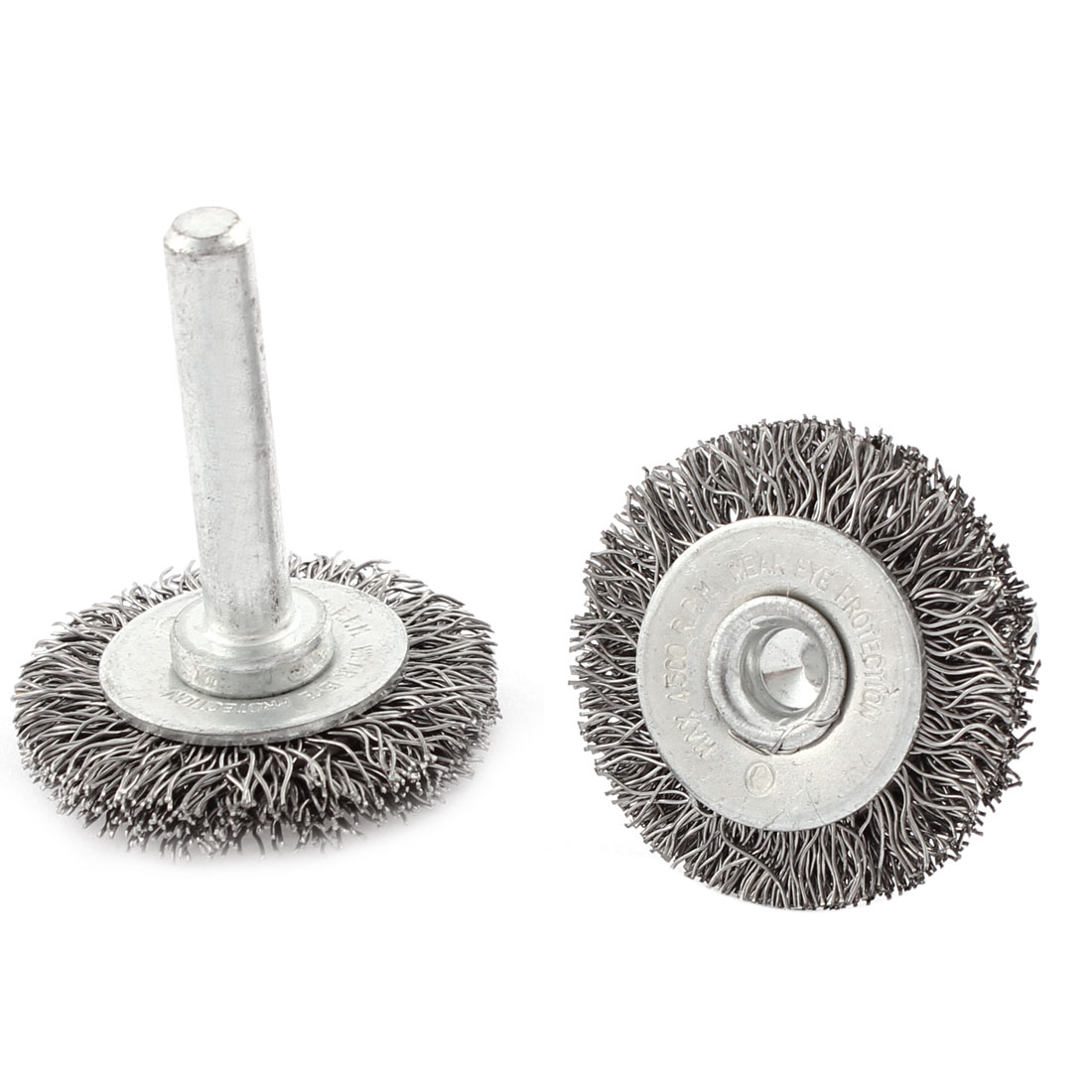 2pcs 33 x 6mm Steel Wire Polishing Buffing Wheels Grinding Brushes Rotary Tool