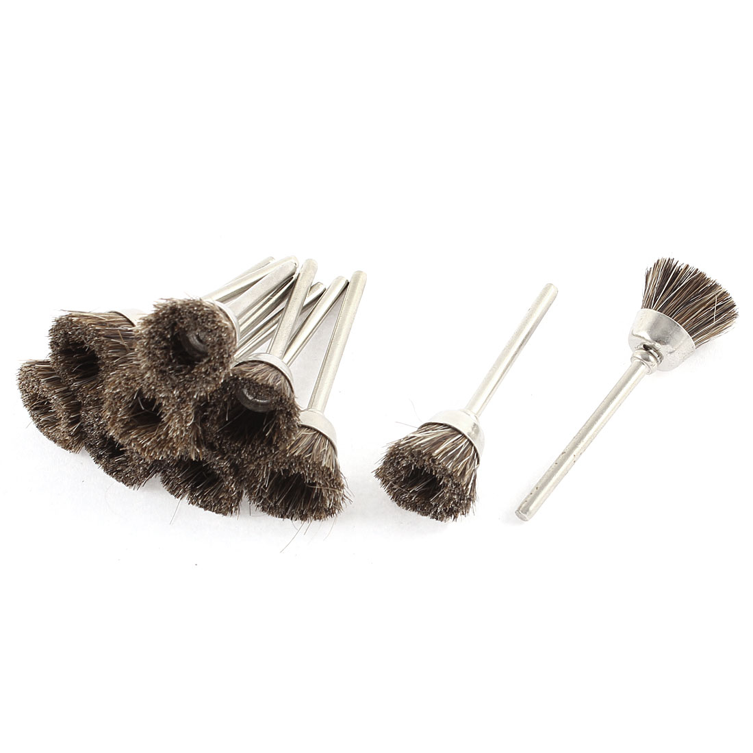 15mm Dia Nylon Head Polishing Brushes Jewelry Cleaning Buffing Tools 10pcs