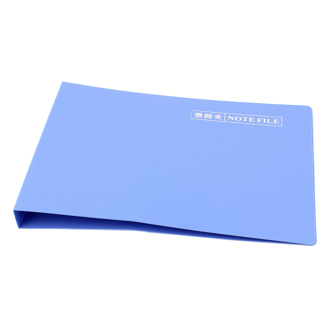 School Office Metal Lever Clip A5 Papers Contracts Documents Receipt Organizer Files Folder Blue