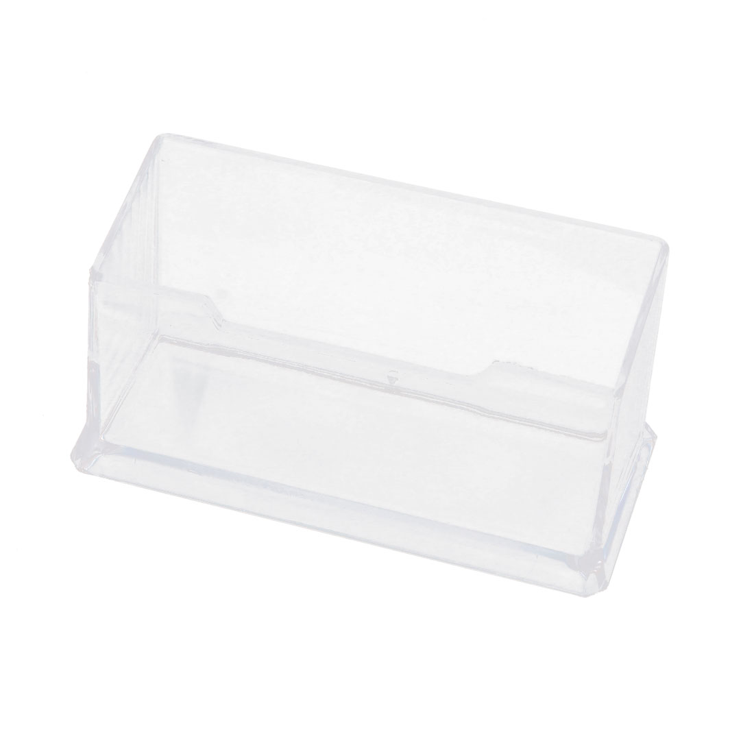 Company Office Plastic Business Name Holder Card Stand Display Stand Clear