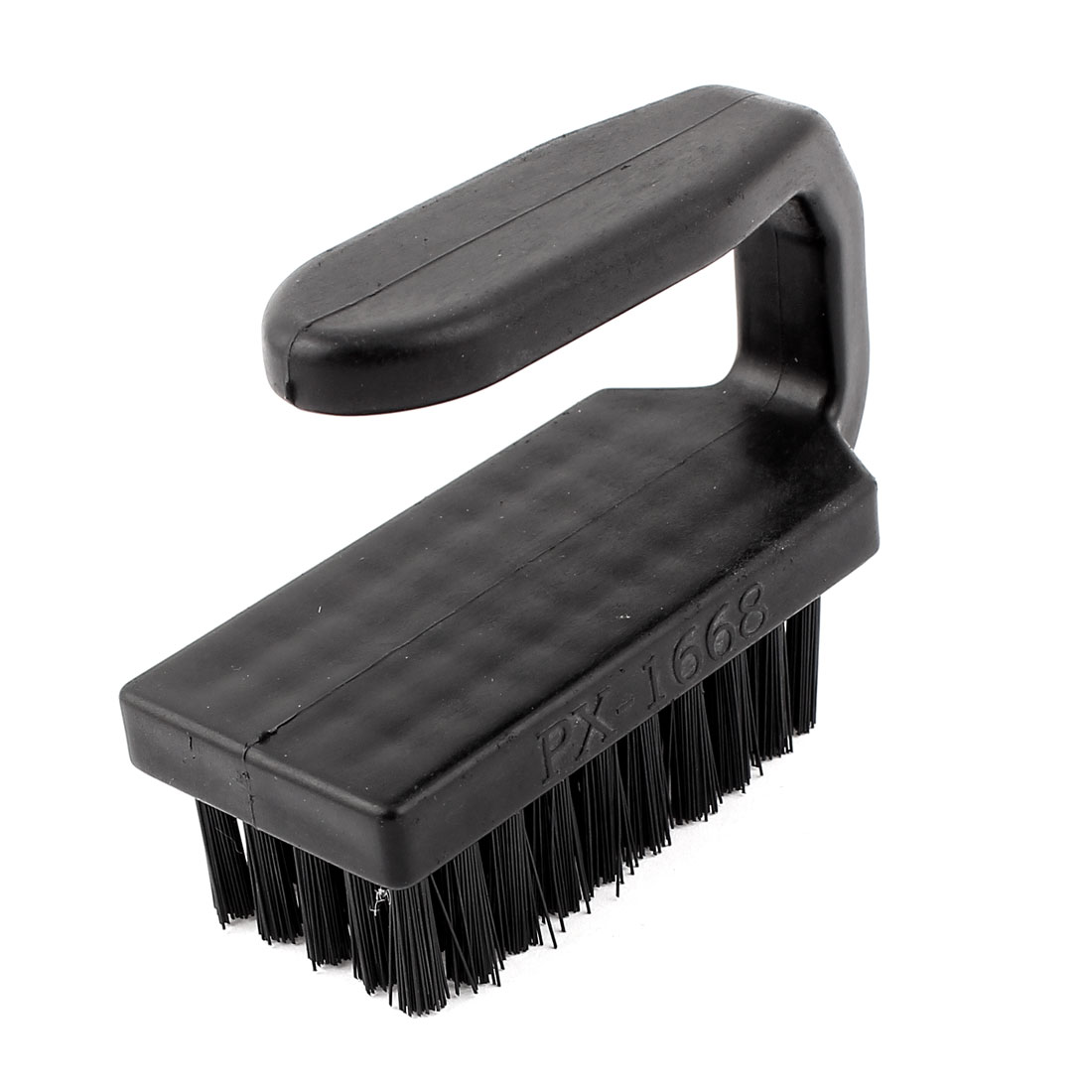 Black Plastic Anti-Static Electronics Cleaning Stiff Bristles Scrub Brush Cleaner