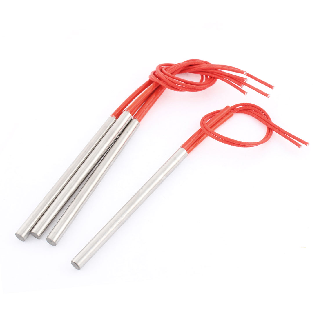4 Pcs AC110V 100W-400W Mold Heating Element Cartridge Heater Tube 8 x 110mm