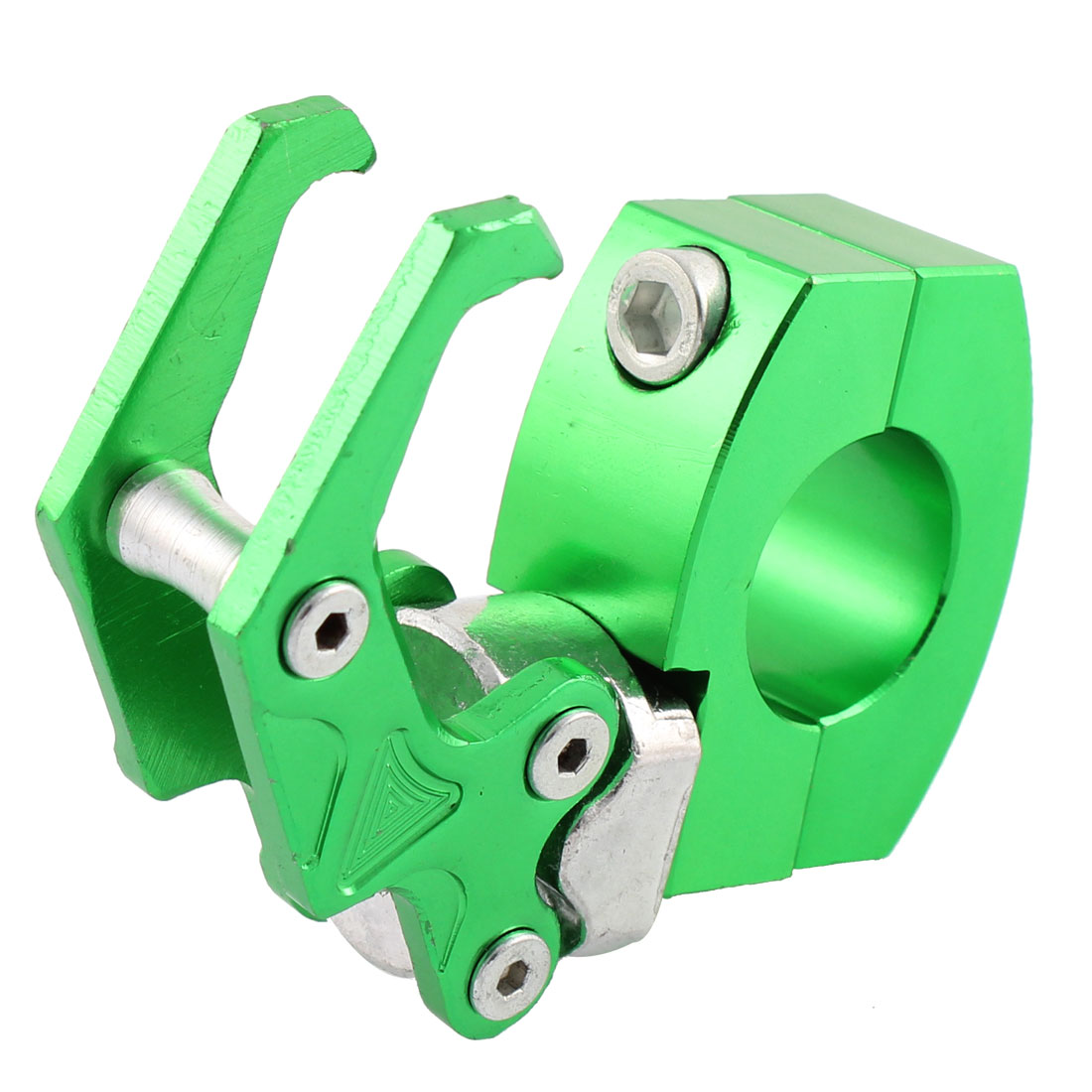 Motorcycle Aluminum Eagle Claw Shaped Design Scooter Hook Green