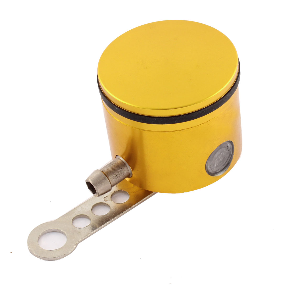 Gold Tone Alloy Braking System Master Cylinder Brake Oil Cup for Motorbike