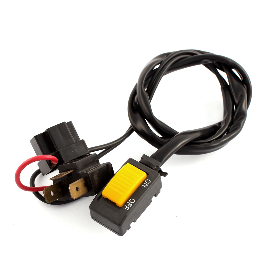 On/ Off 1 Socket Single Headlight Switch 12V for Motorcycles