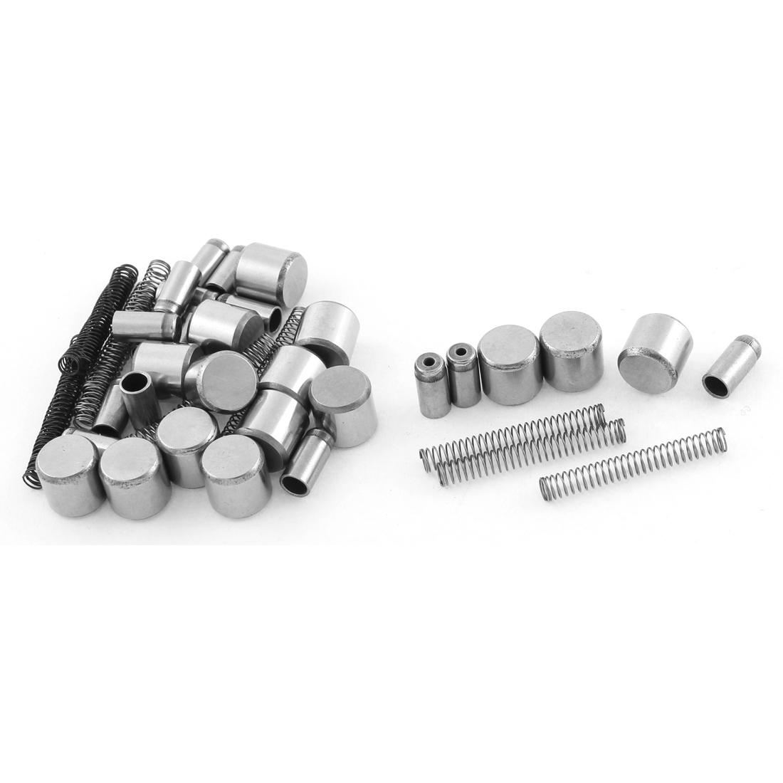 Motorcycle Engine Starter Clutch Roller Pin Spring Set CD-100 5 Pcs