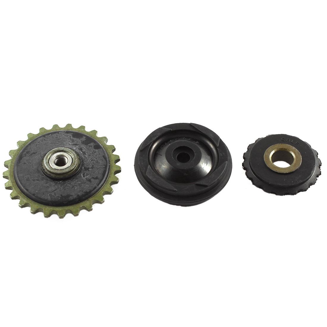 Guide Pulley Oil Pump Gear Tensioner Engine Belt Set for Motorbike 70 100 110