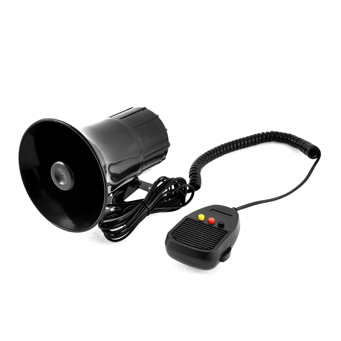 DC 12V 3 Tone Loud Siren Car Security Alarm Horn Controller Kit w Mini Speaker