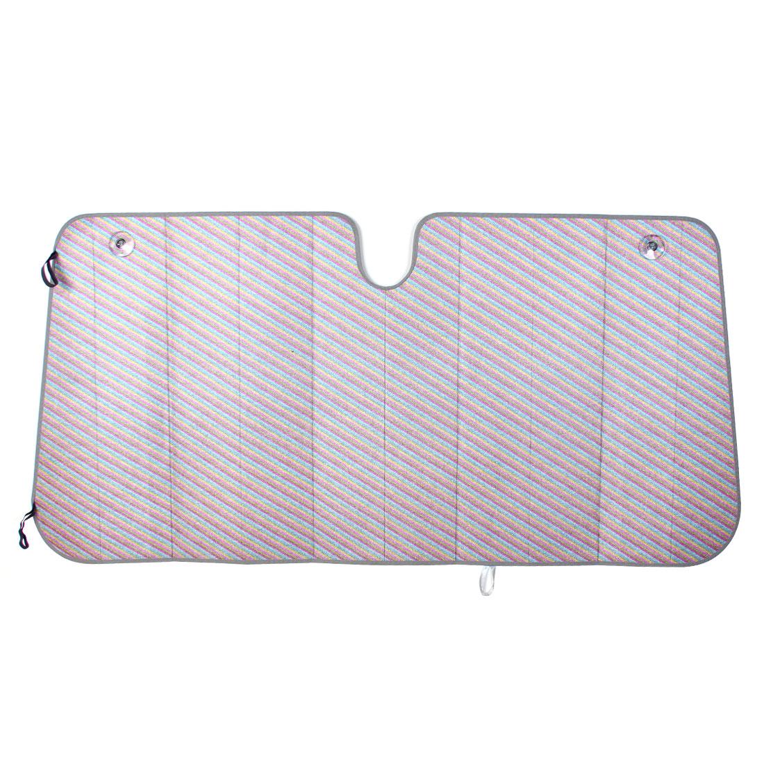 Colorful Foldable Car Window Windshield Sun Shade Visor Shield Cover 142 x 70cm