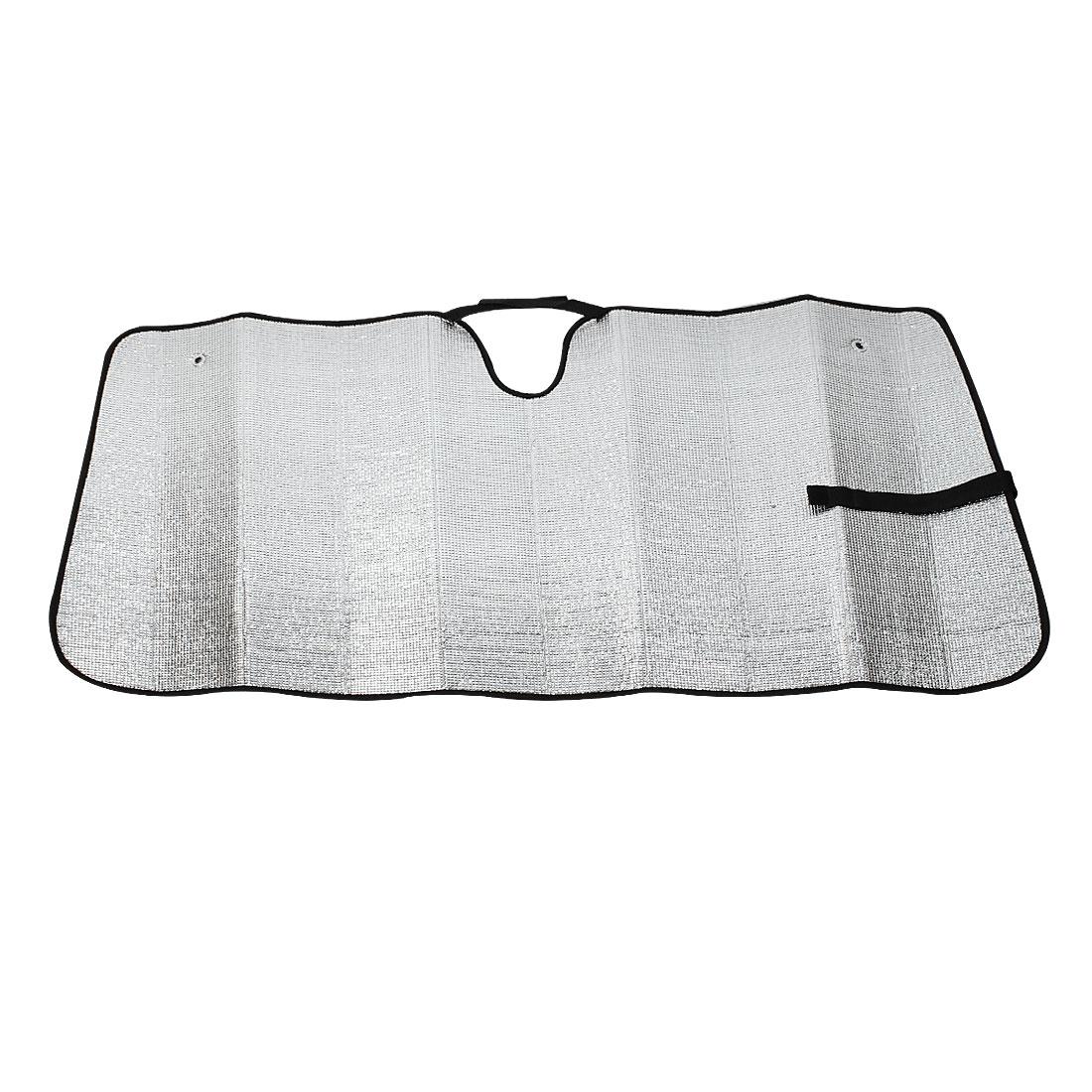 142cm x 70cm Windshield Sunshade Reflective Sun Shade Shield Visor for Car