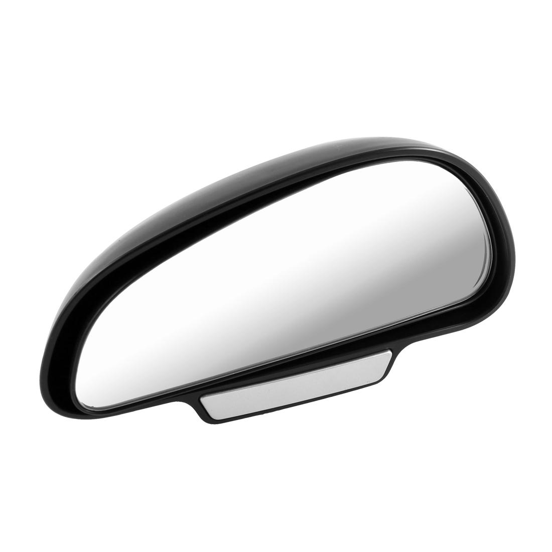 Car Vehivle Flat Left Passenger Side Rearview Door Mirror Black