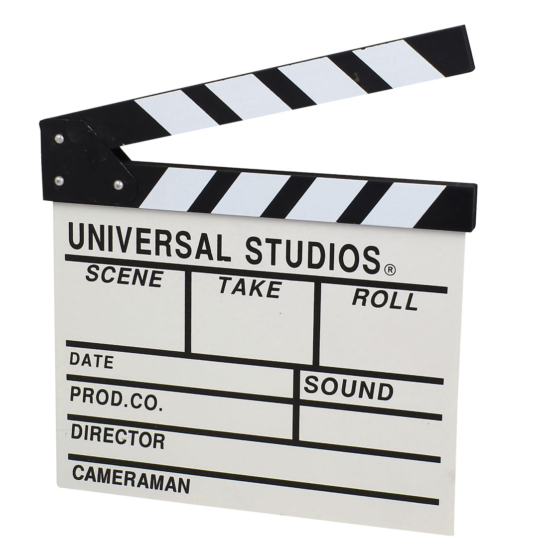 Wooden Movie Clap-stick Clapper Board Director Film Scene Props 27.5.5x30cm