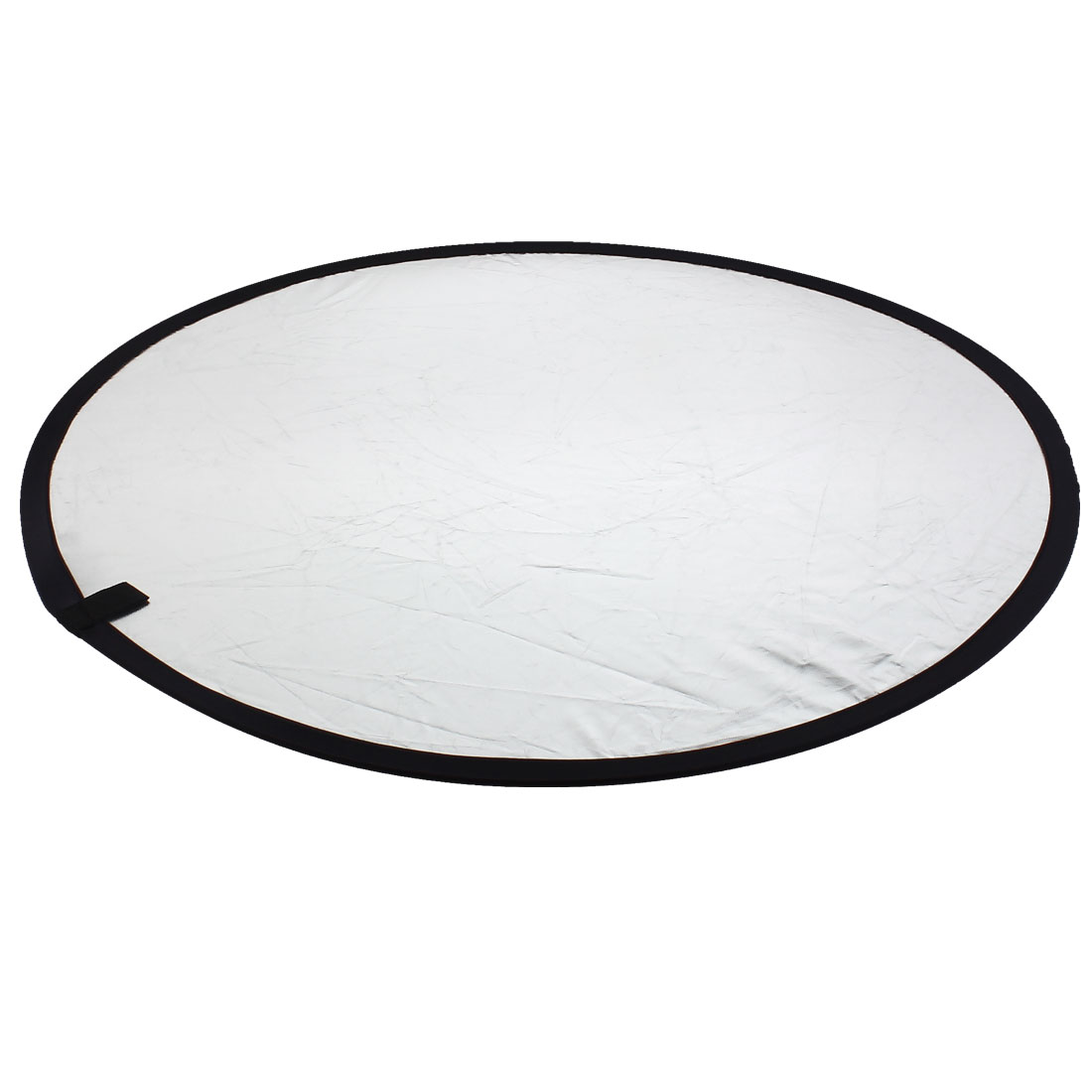 Photography Round White Silver Tone 2 in 1 Light Reflector 80cm