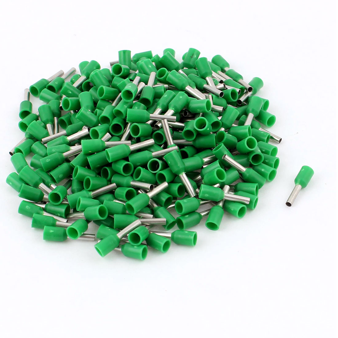 240 Pcs AGW16 Green Copper Wire Crimp Connector Insulated Ferrules Pin Cord End Terminals