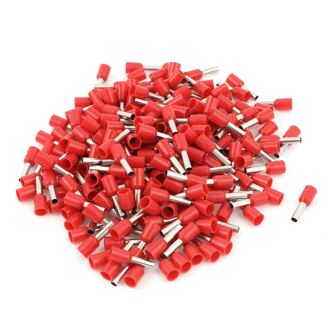 240 Pcs Red Copper Wire Crimp Connector Insulated Ferrule Pin Cord End Terminals AGW14