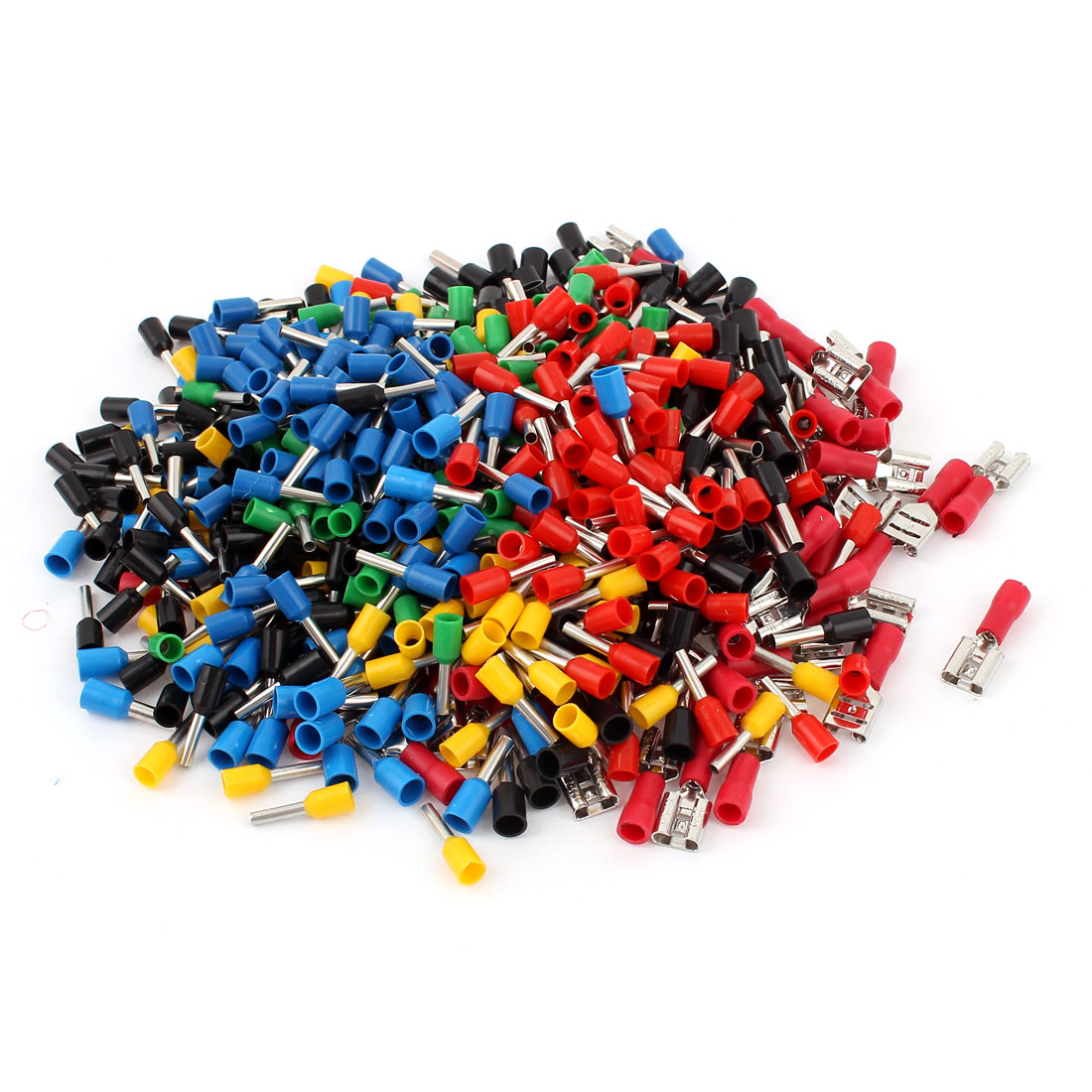 590 Pcs 14AWG 16AWG 22-16AWG Wire Connectors Insulate Ferrule Set