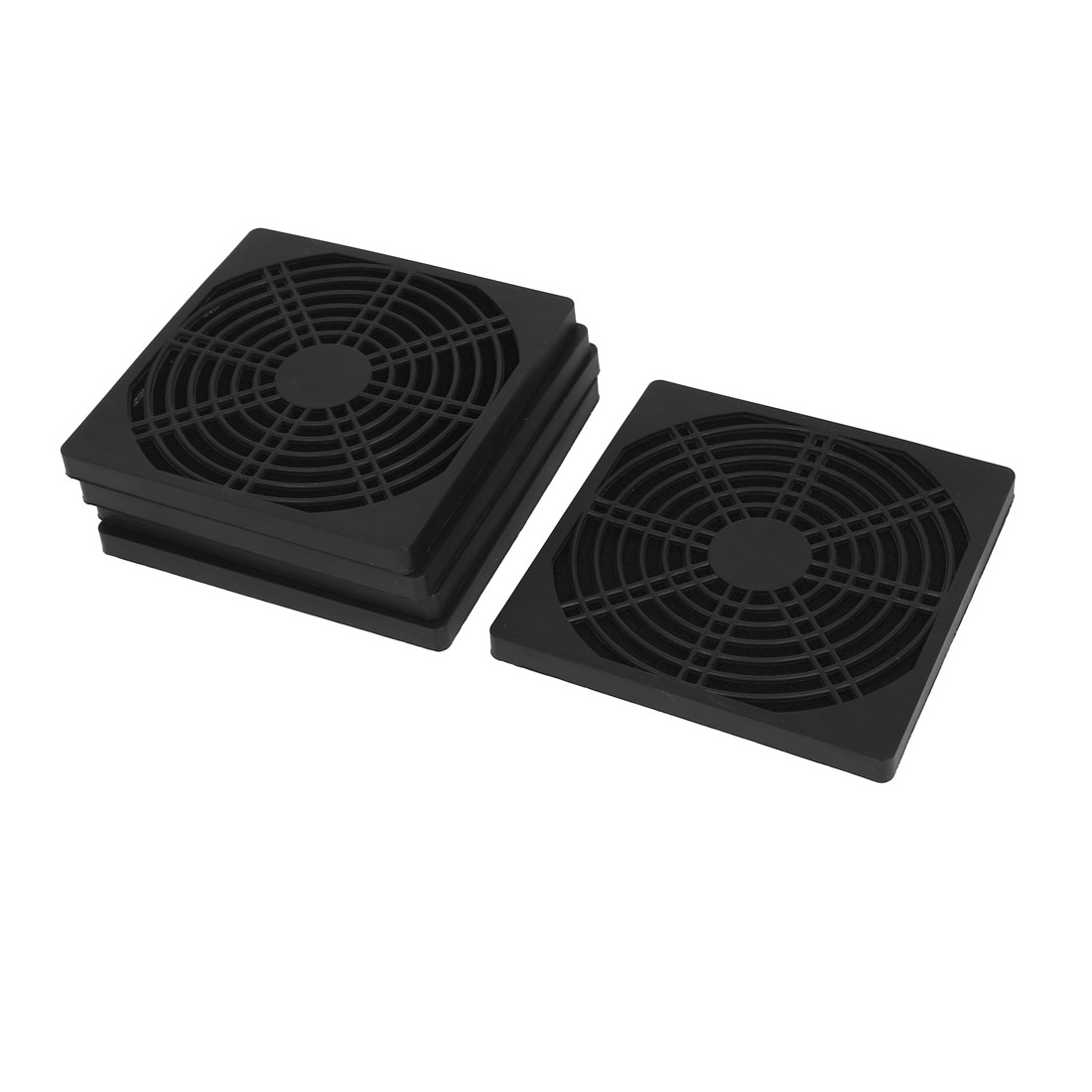 120mm Computer PC Dustproof Cooler Fan Case Cover Dust Filter Mesh 5pcs