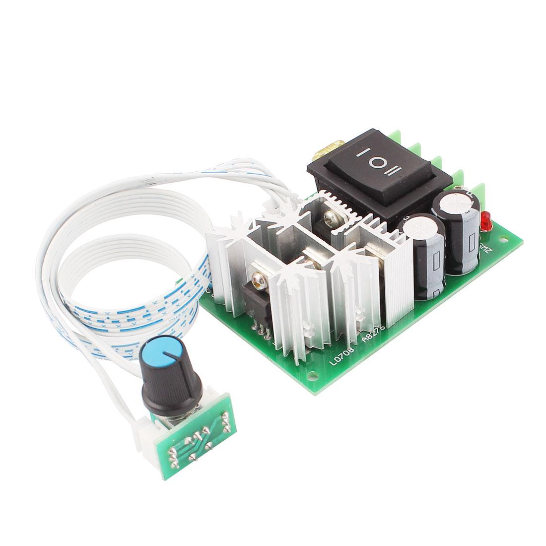 10V-60V 20A Pulse Width Modulator PWM DC Motor Speed Controller Control Switch