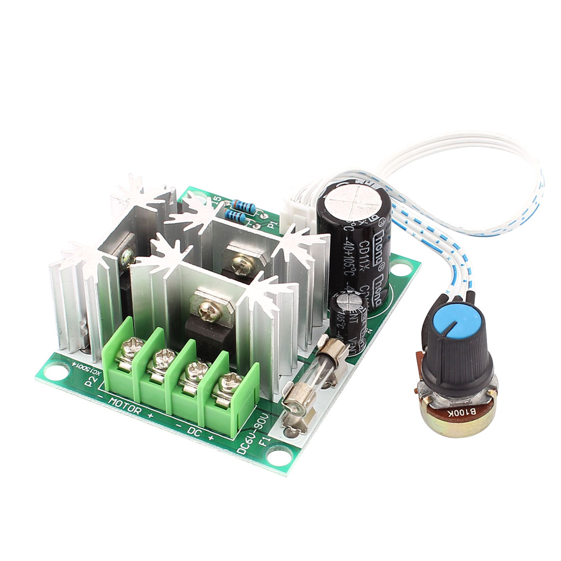 6V-90V 15A Pulse Width Modulator PWM DC Motor Speed Controller Control Switch