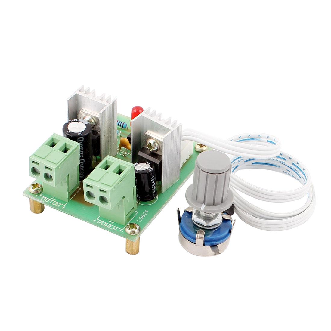 12V-36V 10A 200W Pulse Width Modulator PWM DC Motor Speed Controller