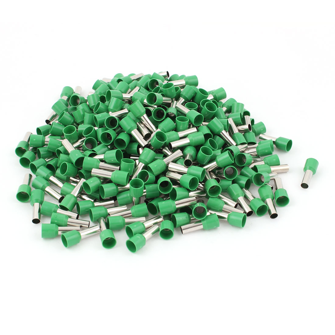 270pcs Green Wire Crimp Connector Insulated Ferrule Cord End Terminal AWG 8