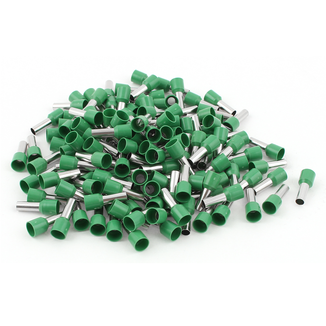 150pcs Green Wire Crimp Connector Insulated Ferrule Cord End Terminal AWG 8