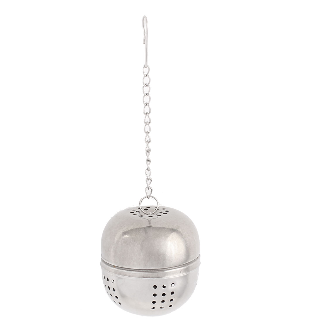 Kitchen 45mm Dia Stainless Steel Ball Strainer Tea Leaf Spice Perfume Infuser