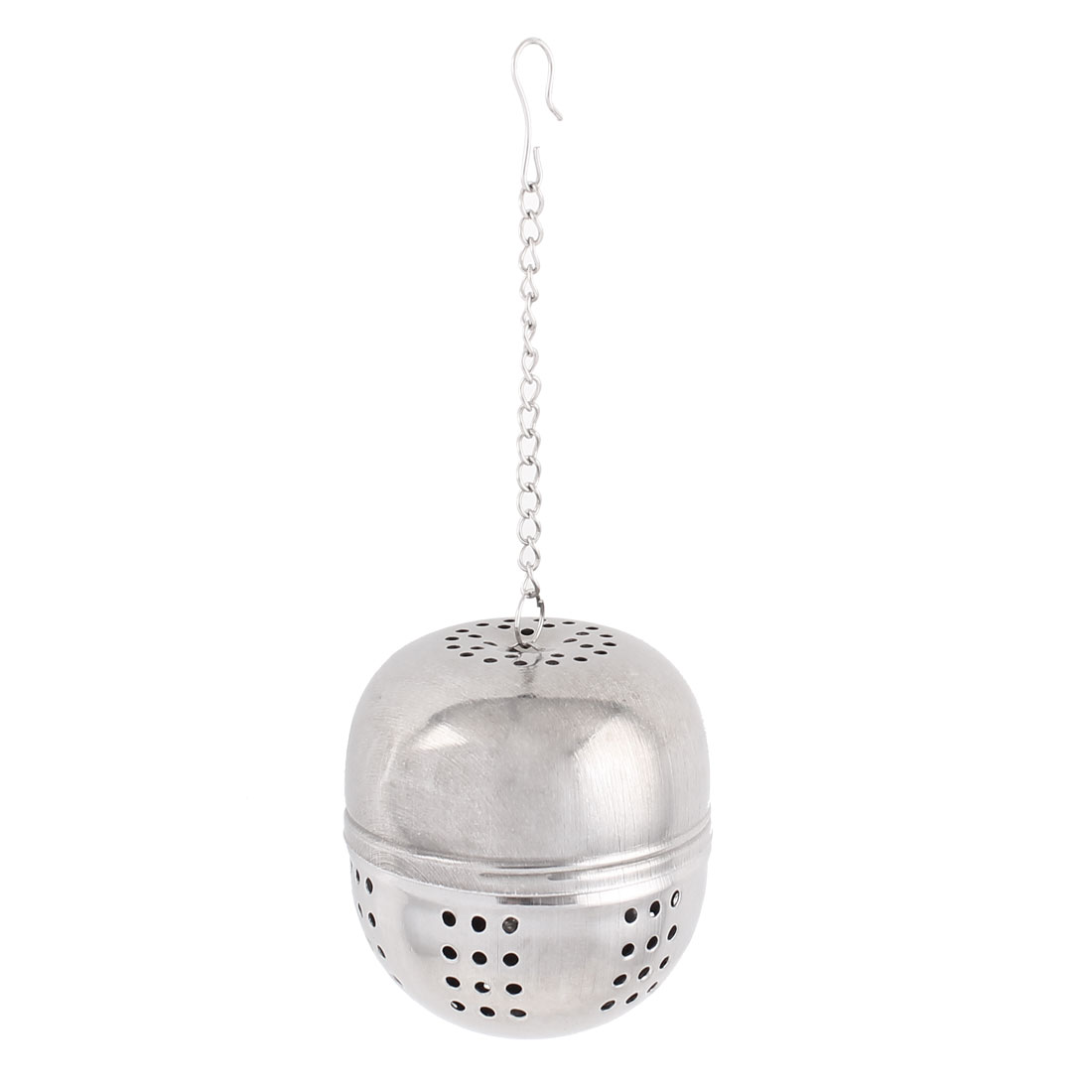 Kitchen 55mm Dia Stainless Steel Ball Strainer Tea Leaf Spice Perfume Infuser