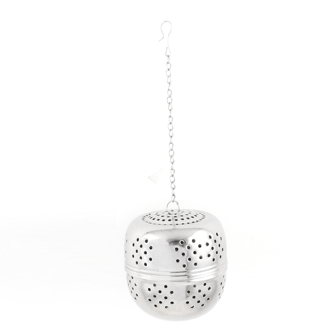 Kitchen 65mm Dia Stainless Steel Ball Strainer Tea Leaf Spice Perfume Infuser