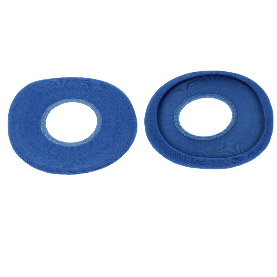 2Pcs Soft Bathroom Washable Toilet Seat Warmer Closestool Seats Blue