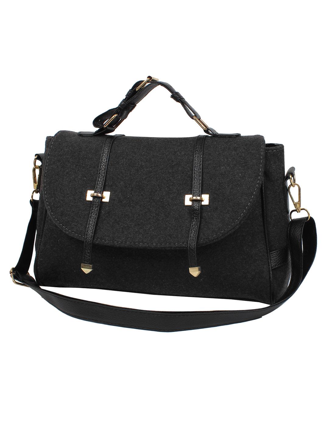 Fashion Nubuck Leather New Women Handbag Tote Shoulder Messenger Hobo Bag Gray