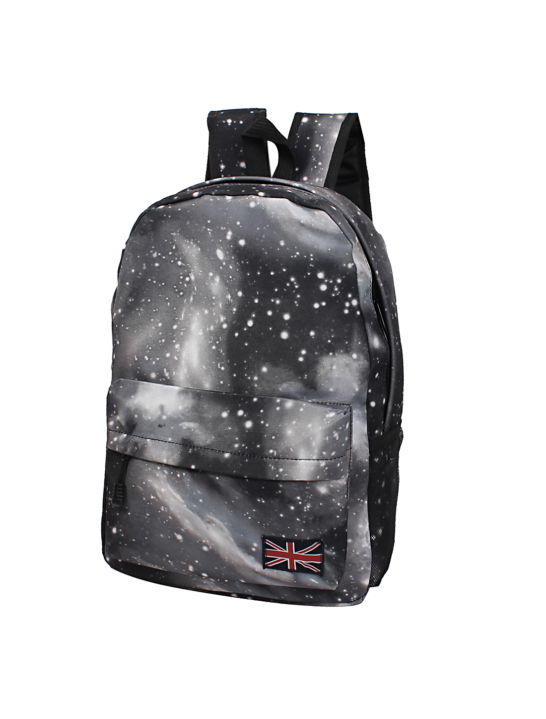 New Galaxy Space Backpack Rucksack Canvas Bag School Bookbag Satchel Black