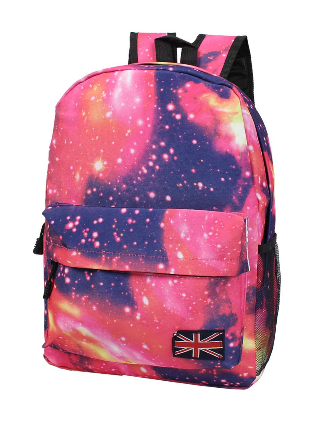 New Galaxy Space Backpack Rucksack Canvas Bag School Bookbag Satchel Pink