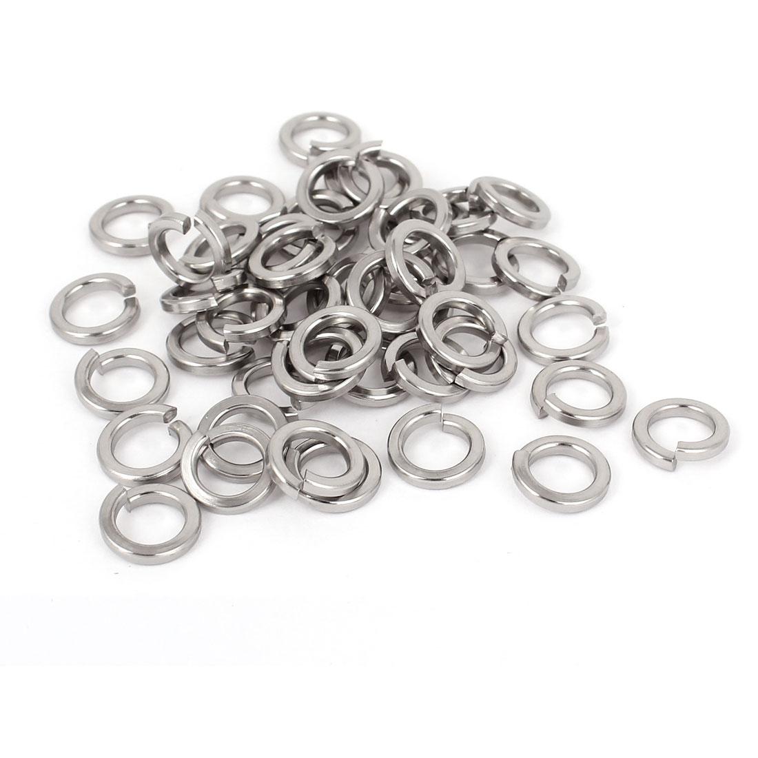 "50pcs 316 Stainless Steel Split Lock Spring Washers 5/16"" Screw Spacer Pad"