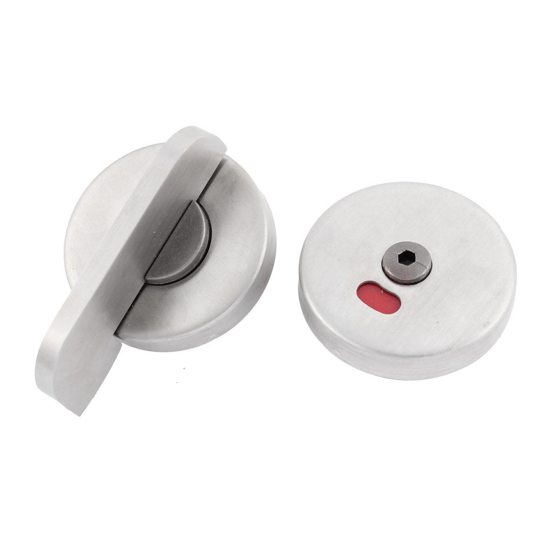 Restroom Fitting Security Toilet Door Lock Indicator Bolt Lockset