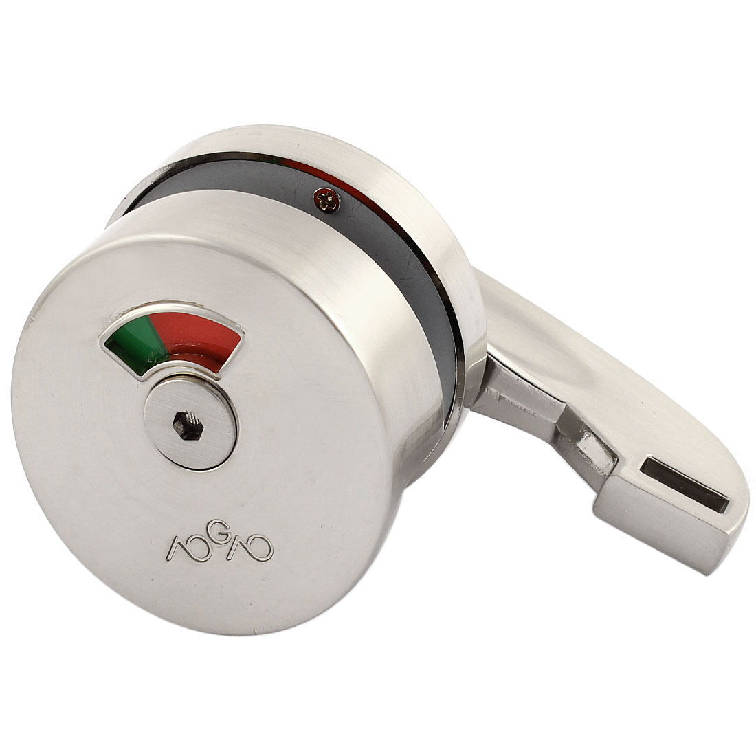 Alloy 180 Degree Rotating Knob Toilet Partition Door Lock Indicator