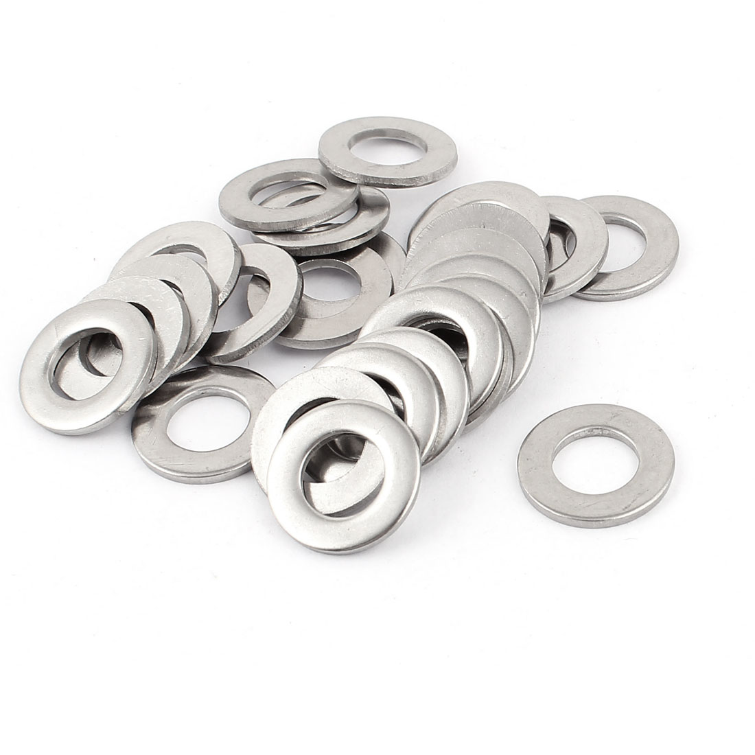 25pcs 304 Stainless Steel Split Lock Spring Washers 11mm Screw Spacer Pad