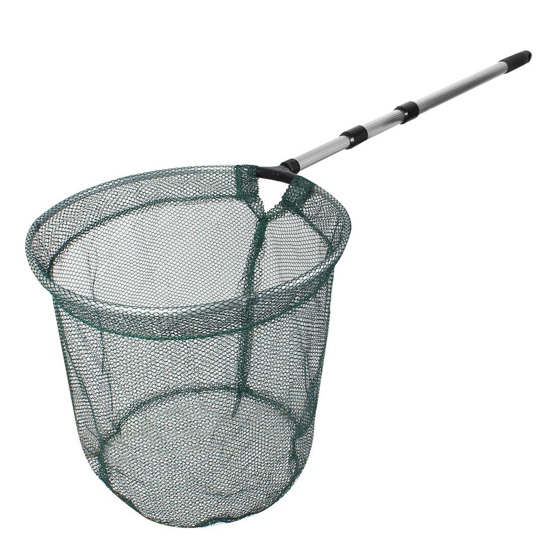 150cm Retractable Pole Folding Fishing Landing Net Extending Handle Tackle