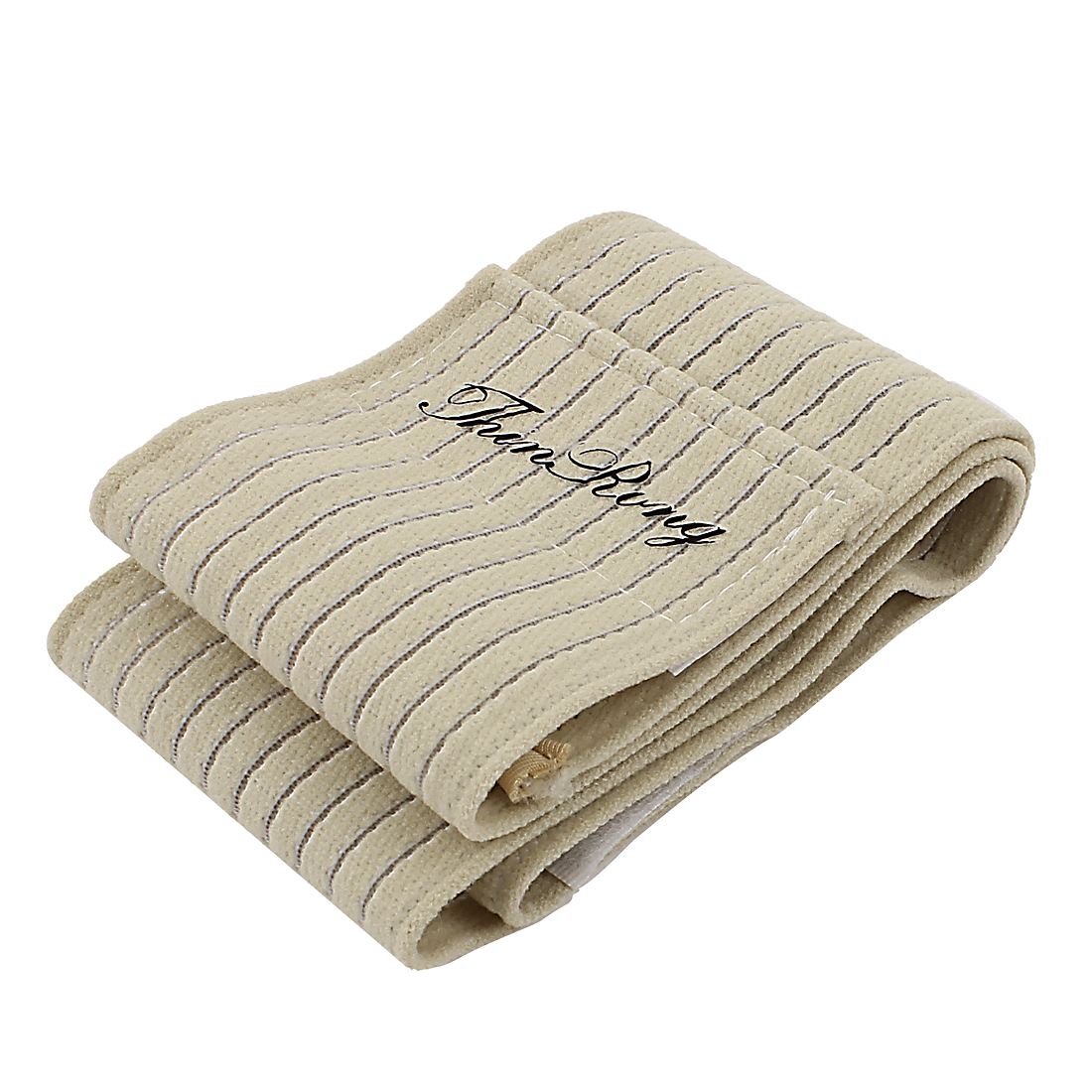 Weight Lifting Training Straps Gym Hand Wrist Support Wrap Beige