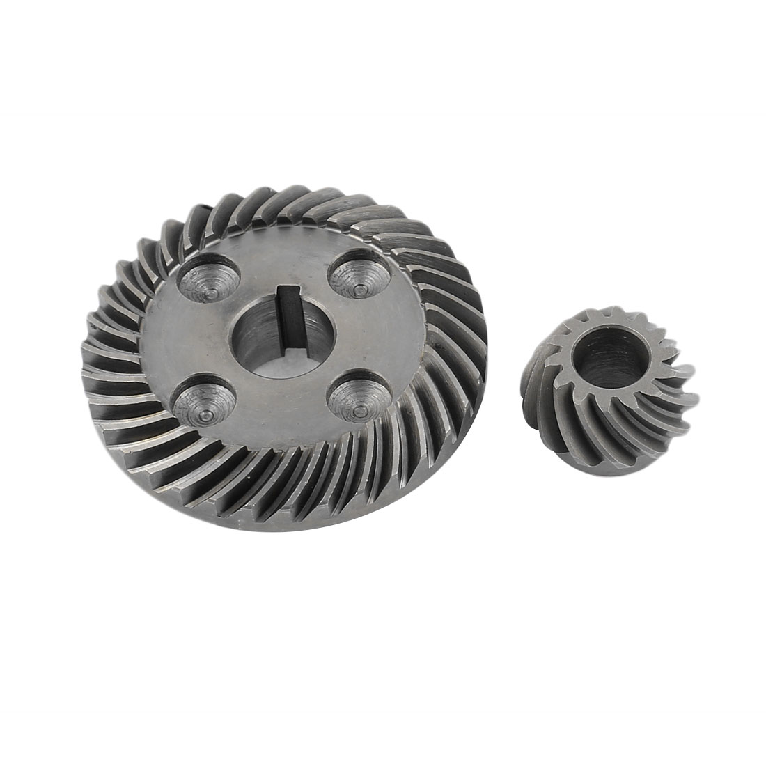 Replacement Metal Electric Tool Angle Grinding Spiral Bevel Gear Set for Hitachi 100 Angle
