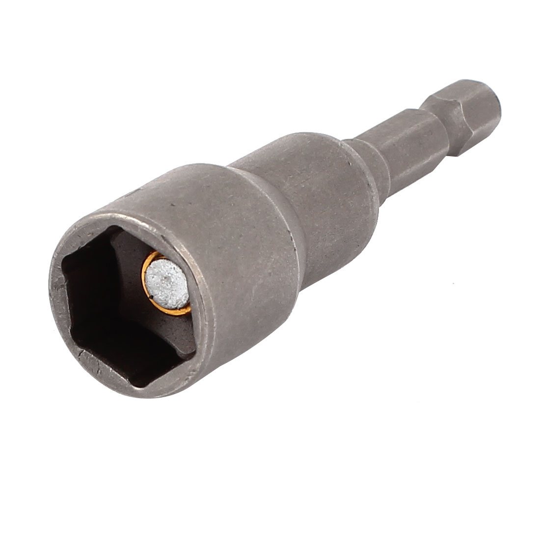 "1/4"" Hexagon Shank 13mm Hex Magnetic Nut Socket Driver Bit Adapter 65mm Long"