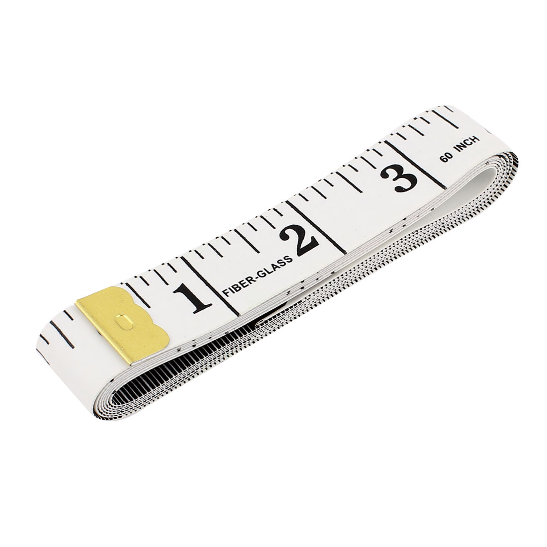 "Body Measuring Sewing Cloth Tailor Tape Soft Flat Ruler White 60"" 150cm"