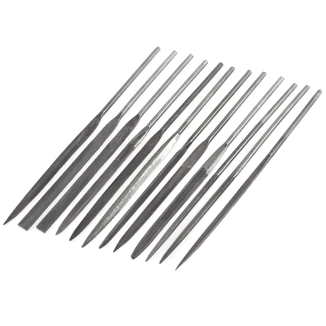 Metal Glass Hobby Repair Hardware Tool Needle File 12 Pcs